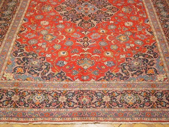 Authentic Classic Quality Persian Kashan Rug 10x15 Ebay