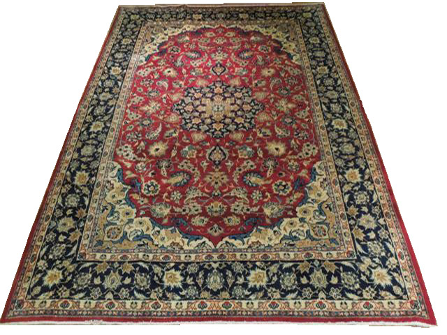 8x10 Persian Isfahan Rug Stylistic Decoration Carpet Ebay