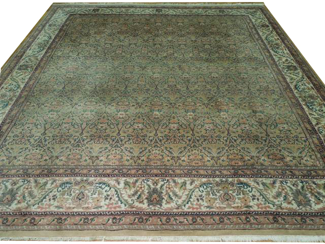 Full view of beautiful rug