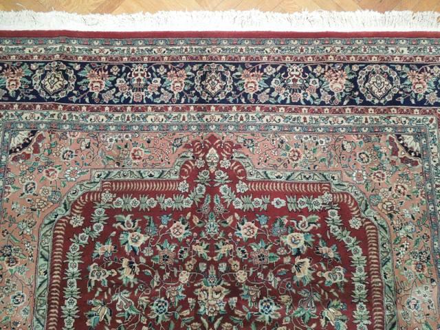 Wool Amp Silk 8x10 Rug Fine Handmade Oriental Ebay