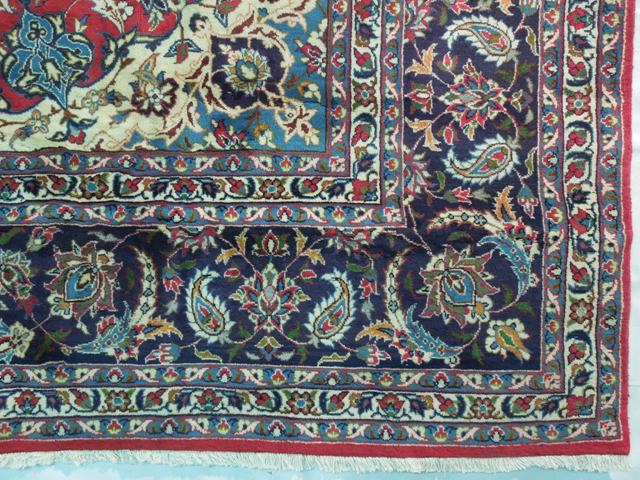Pre Owned Persian Isfahan Rug 10x15 Ebay