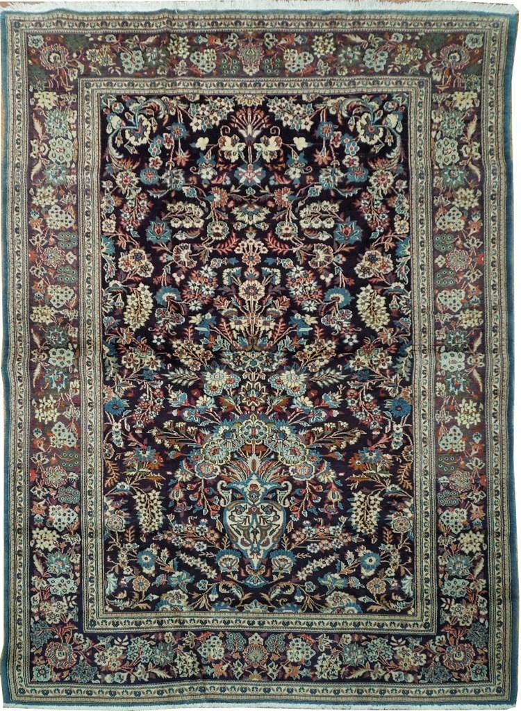 original persian 5x7 rug vase collector rug