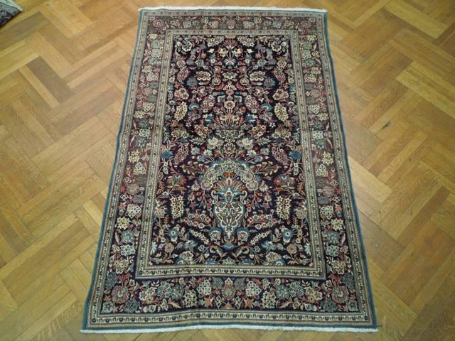 original persian 5x7 rug vase collector rug ebay. Black Bedroom Furniture Sets. Home Design Ideas