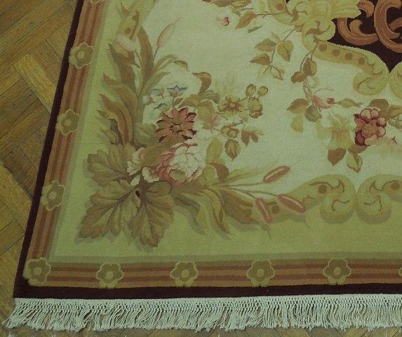 Fine Quality 9x11 Rug Handmade In Pakistan Aubusson Ebay