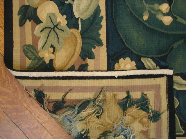 8x12 Tapestry Needlepoint Rug Fruit Of The Loom Ebay