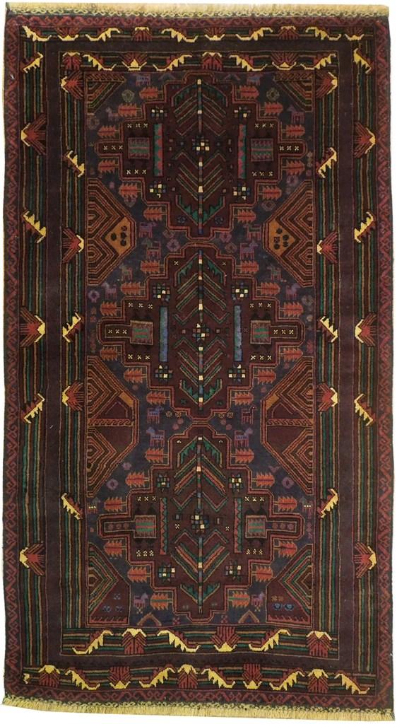 3'7'' x 6'5'' Tribal rug