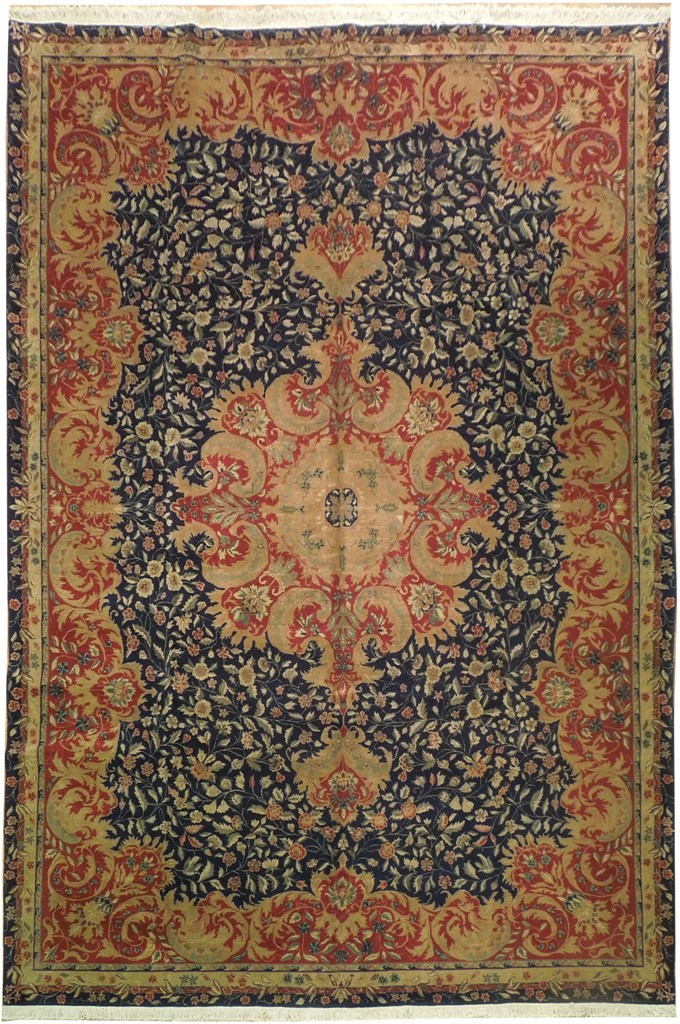9x14 High Quality Wool Sino Tabriz Rug Ebay