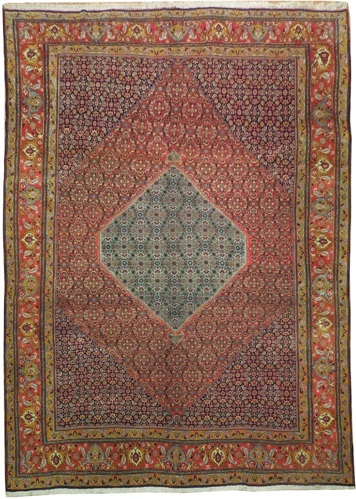 10x14 Authentic Bijar Rug Top Of Persia Iran Carpets Ebay