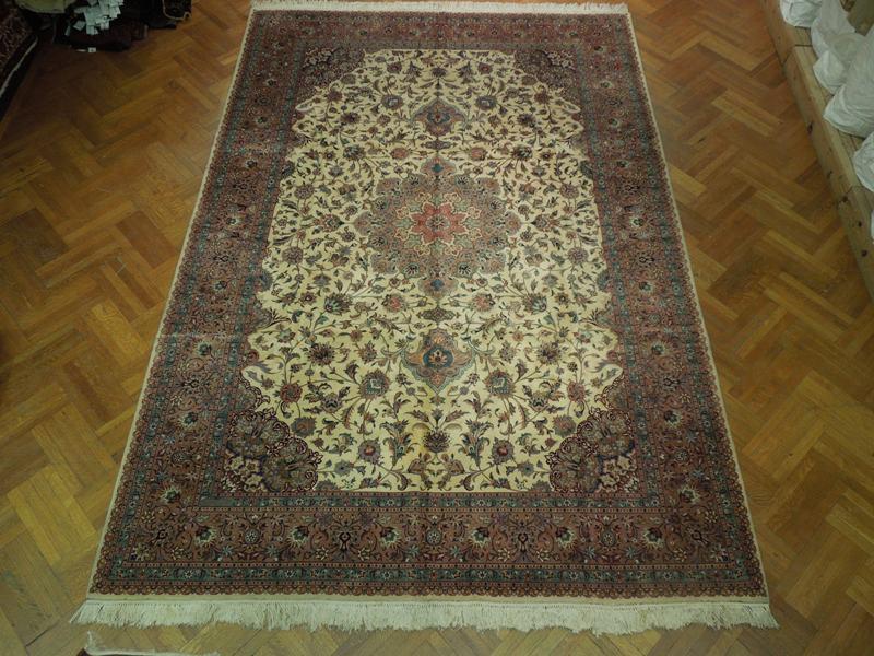 10x14 Pre Shah Quality Persian Tabriz Rug 400 Kpsi