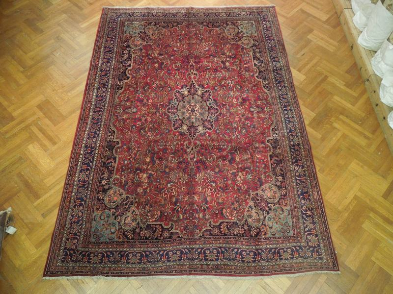 10x14 Authentic Persian Bijar Rug Iran Iron Rug