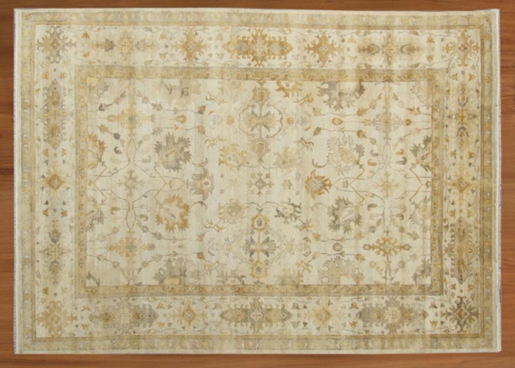 """9' 10"""" x 16' 04"""" Oushak handmade rug"""