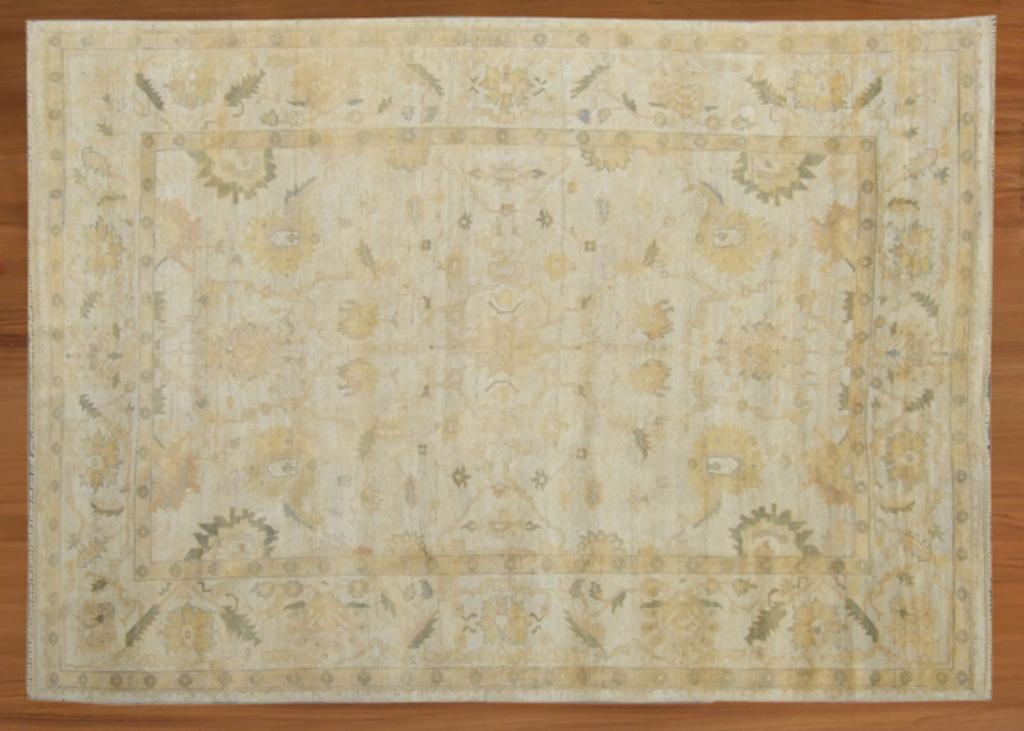 """10' x 15' 01"""" Oushak handmade rug"""