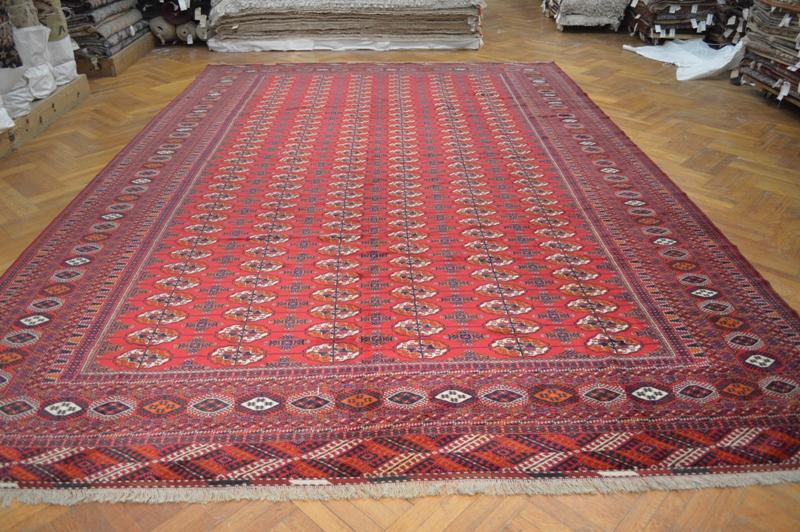 Quality 11x16 Persian Turkoman Bokara Rug Wool Iran Ebay