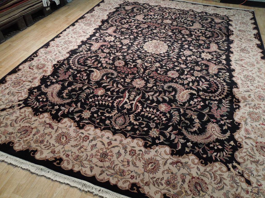 9x12 Hand Knotted Fine Wool Quality Area Rug Ebay