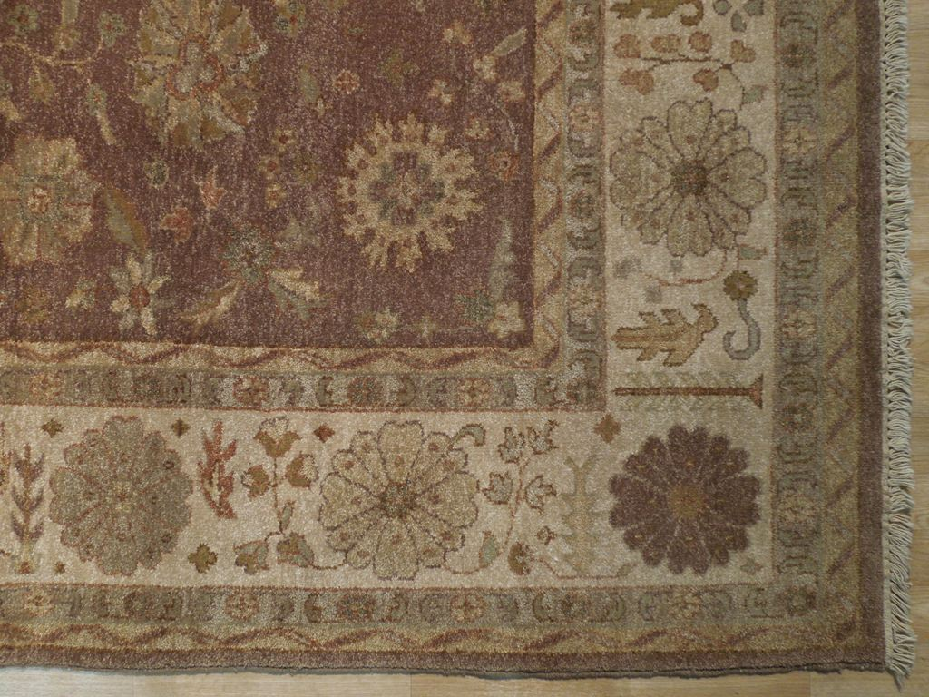8x10 Brown Rust Oushak New Rug Ebay