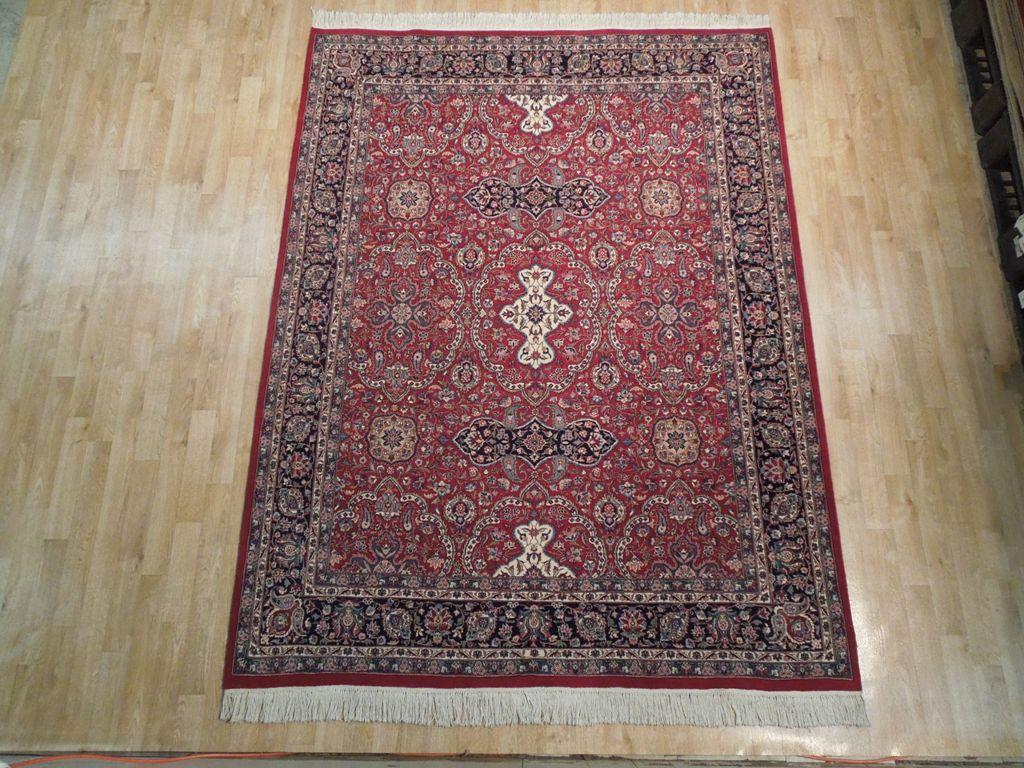 8x6 Fine Weave 18 18 Pakistan Tabriz Quality Rug 200kpsi