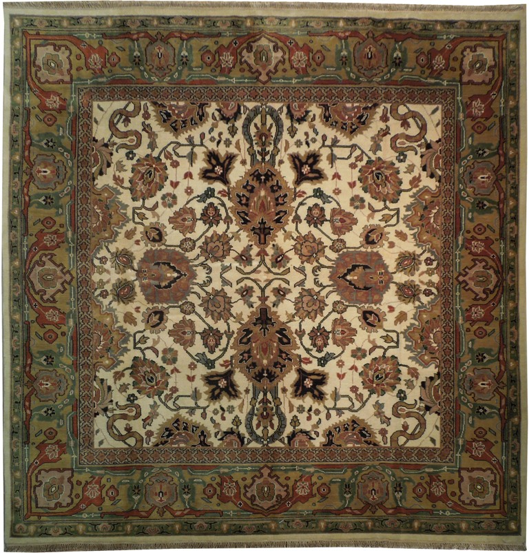 10x10 Square New Oushak Oriental Wool Area Rug Ebay