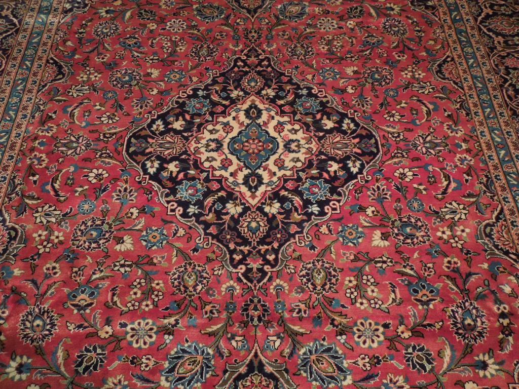 10x14 Original Persian Kashan Rug Perfect Iran 70 S Ebay