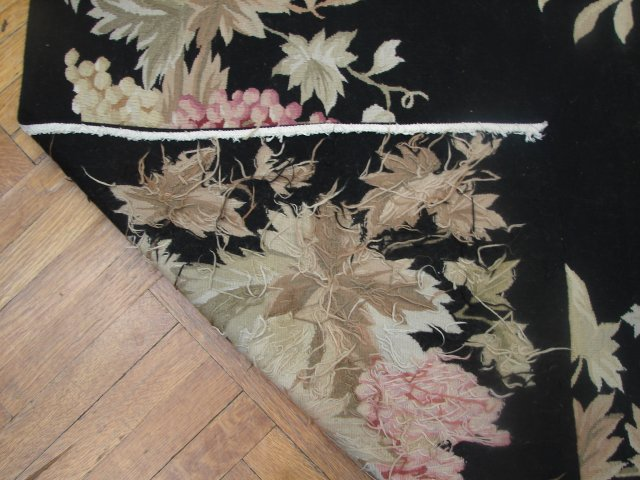 Fruit Design 6x9 Aubusson Rug Apple Grapes Pineapple Ebay