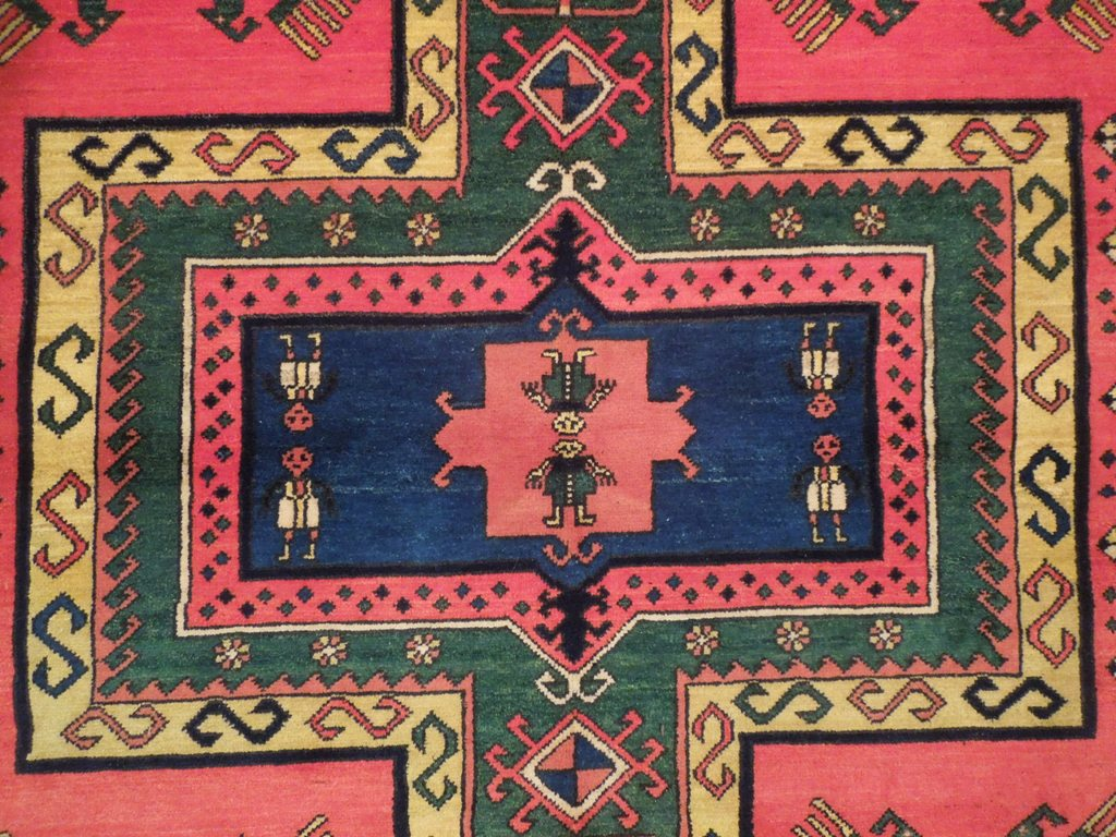 Village 6x7 Eagle Kazak Brand Rug Ebay