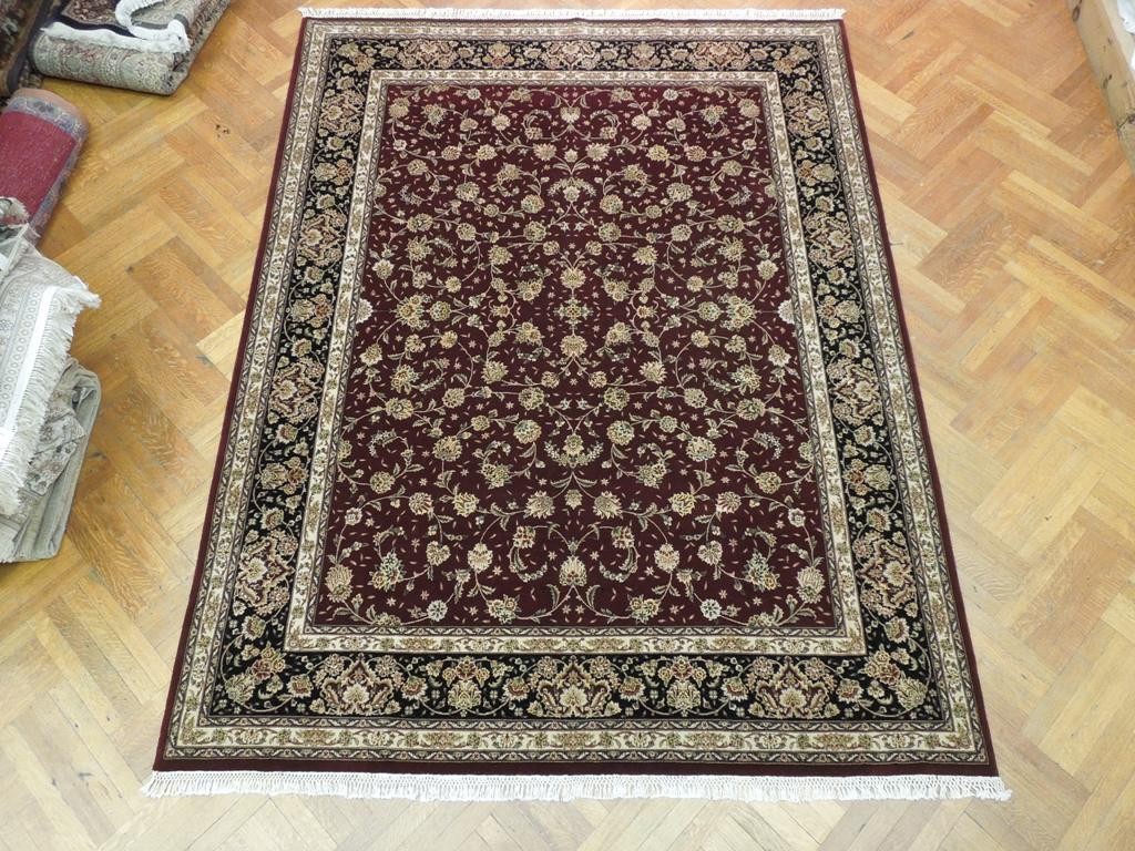 Hand Woven New 8x10 Wool Amp Silk Persian Tabriz Area Rug Ebay