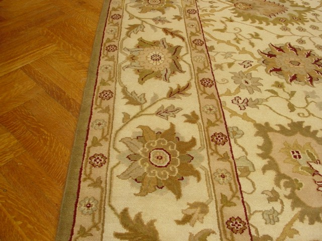 Cheap 12x15 Ivory Mahal Carpet Hand Knotted New Very Soft