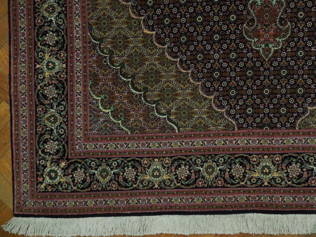 Jewel Tones New 5x7 Wool Amp Silk Persian Tabriz Rug Ebay