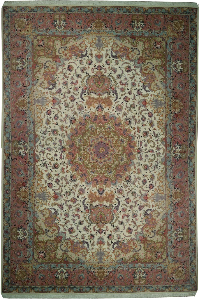Iran Art Work Wool Amp Silkon Silk Base High End Persian 11 X