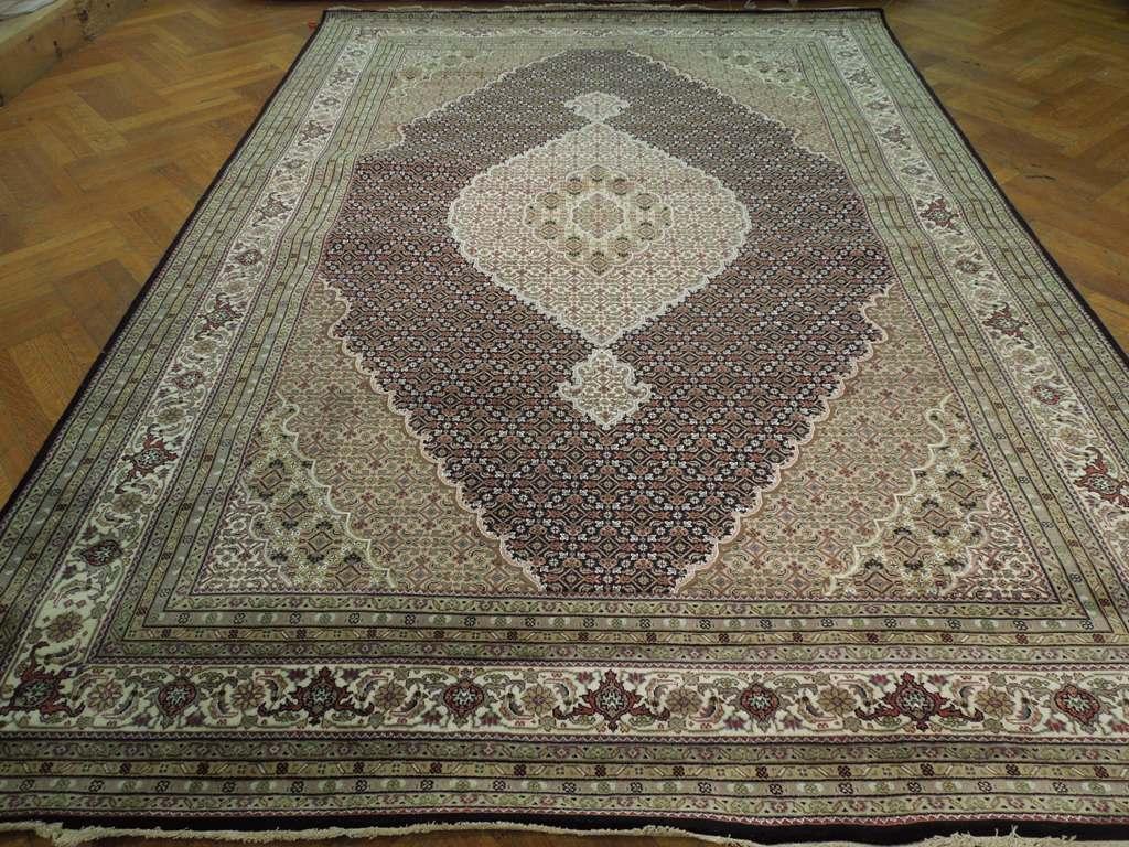 Super Fine 8x12 Tabriz Mahi Wool Amp Silk 40 Raj Rug