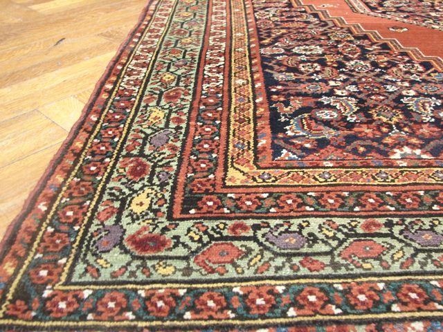 authentic 5x7 antique persian bijar rug ebay. Black Bedroom Furniture Sets. Home Design Ideas