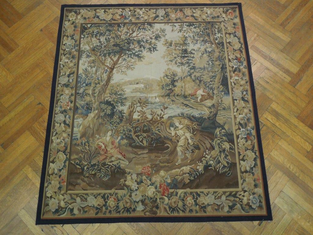 Romantic Rendezvous Tapestry Handmade 6x7 Wall Hanging Ebay