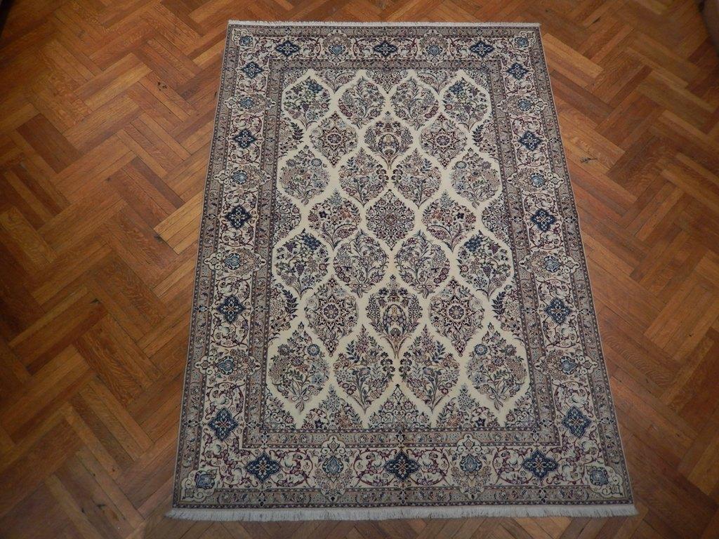 Habibian Signature Rug 8x10 Wool Amp Silkpersian Nain Ebay