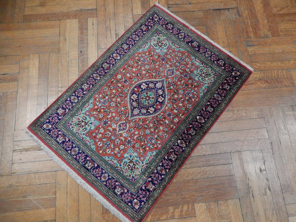 Collection Art Handmade Persian Qum 3x4 Fine Silk Rug Ebay
