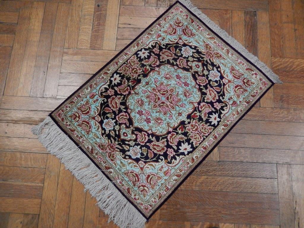 Wall Hanging Oriental Handmade 2x3 Persian Qum Silk Rug Ebay