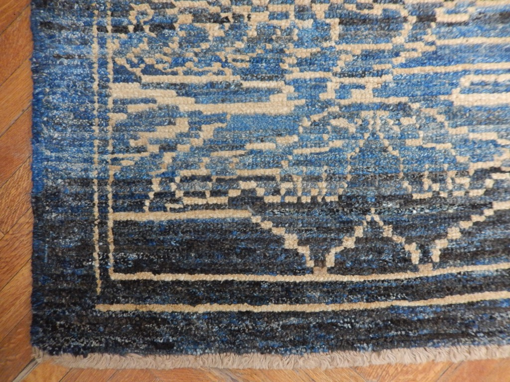 Navy Blue 12x15 Turkish Semi Antique Oushak Area Rug Ebay