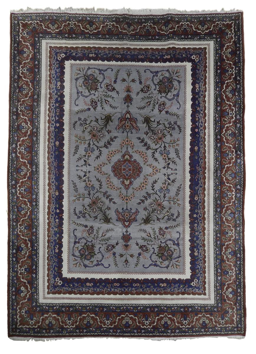 9x12 old fine persian tabriz rug unusual l