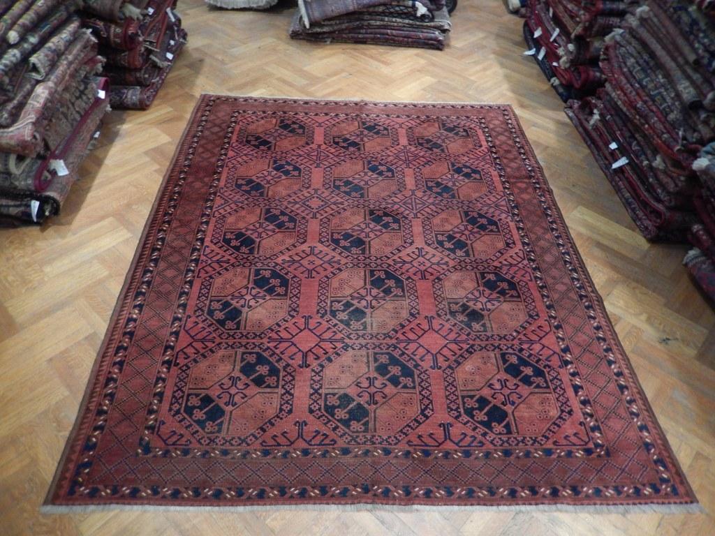authentic handmade area rug - Bokhara Rug