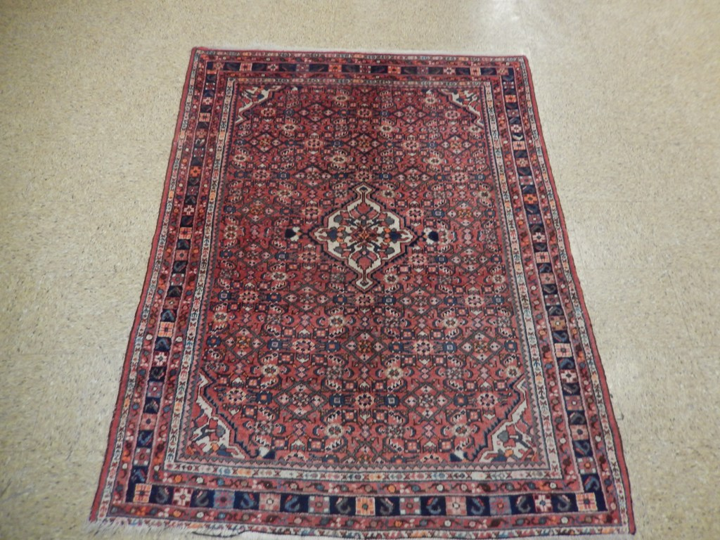 semi antique herati hand woven 5x7 persian vintage rug traditional. Black Bedroom Furniture Sets. Home Design Ideas