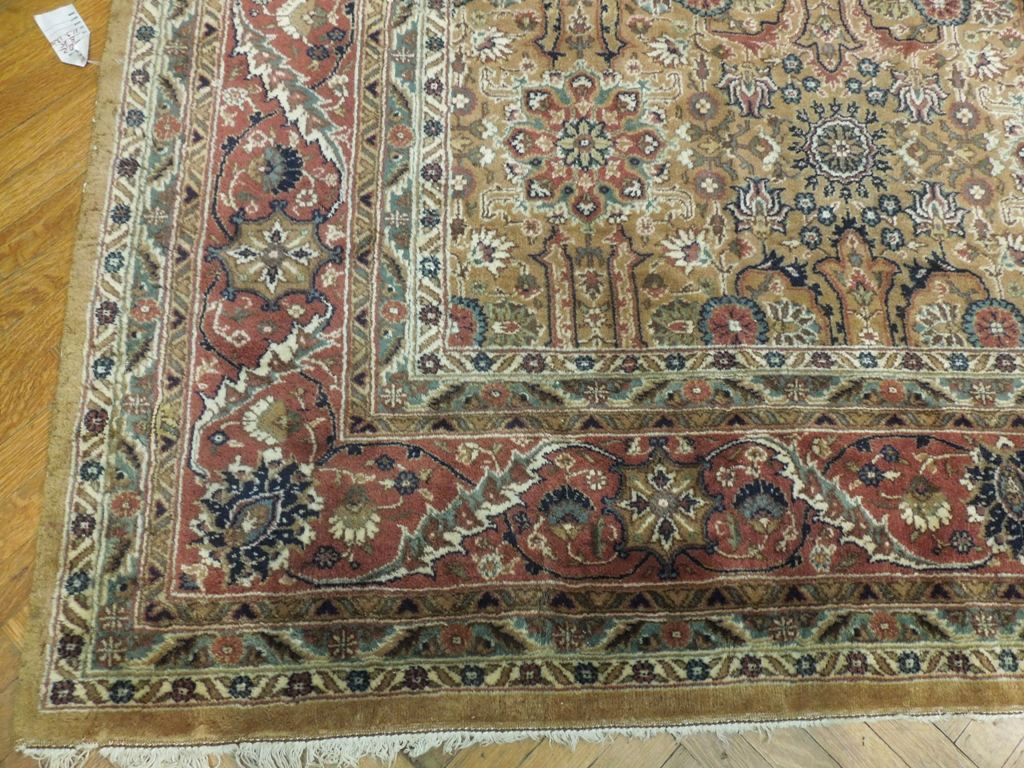 Antique 12x14 Pre Owned Persian Tabriz Rug Brwon Ebay