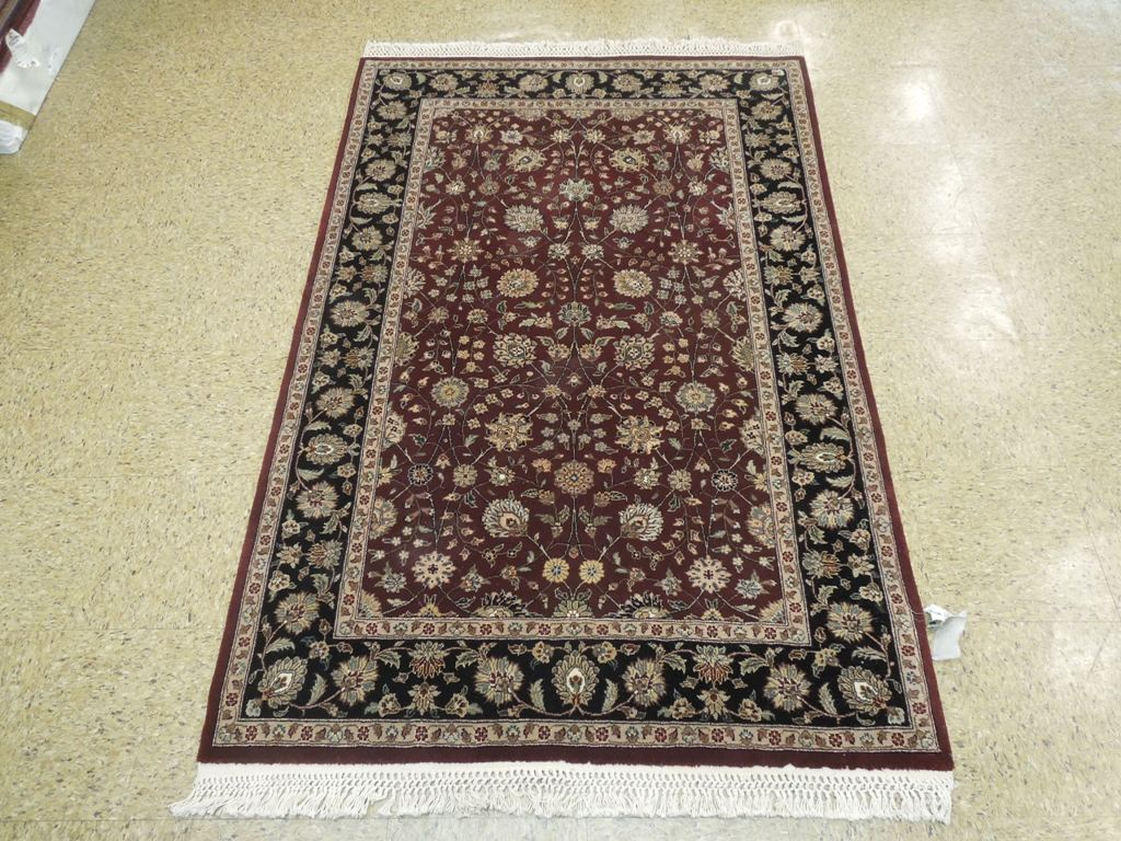 Tabriz rug interior decor traditional hand woven rug 4x6 for Decor international handwoven rugs