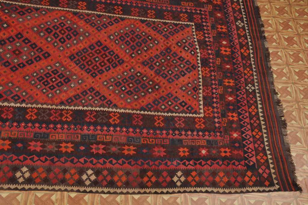 Oriental Wool On Wool 9 X 14 Organic Materials Ethnic