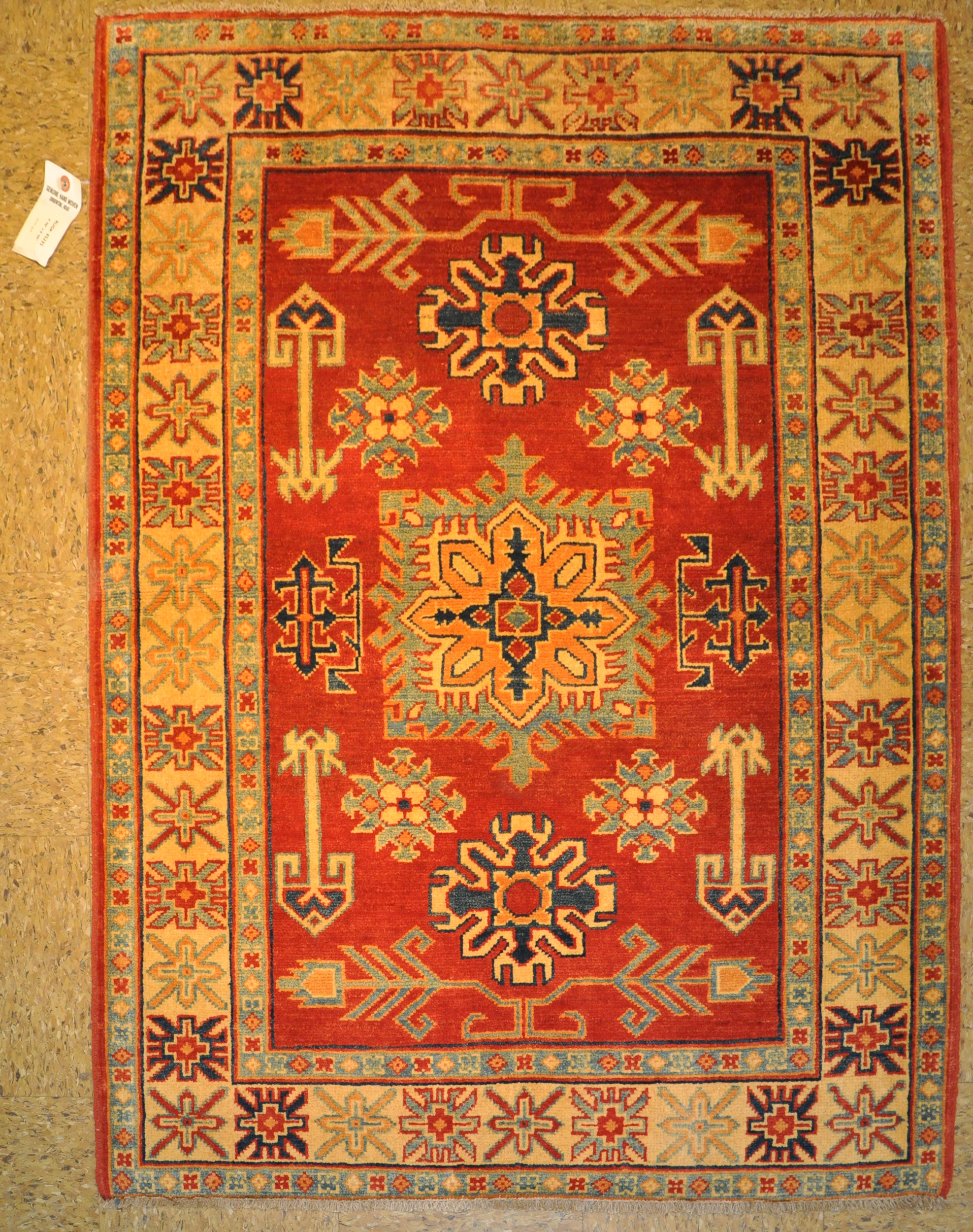 kazak rugs for bedrooms hand knotted 4