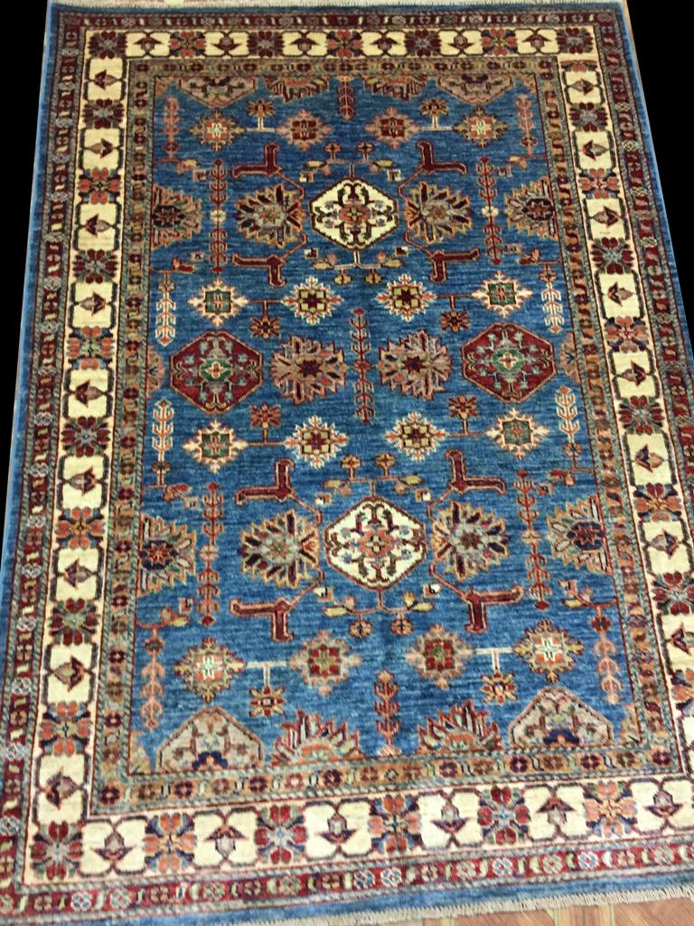 Armenian Weavers New Rug 4 X 6 Super Kazak Rug Handmade Ebay