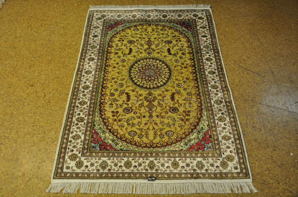 Image Is Loading Silk Carpets Rug 4x6 Rugs Online Tabriz