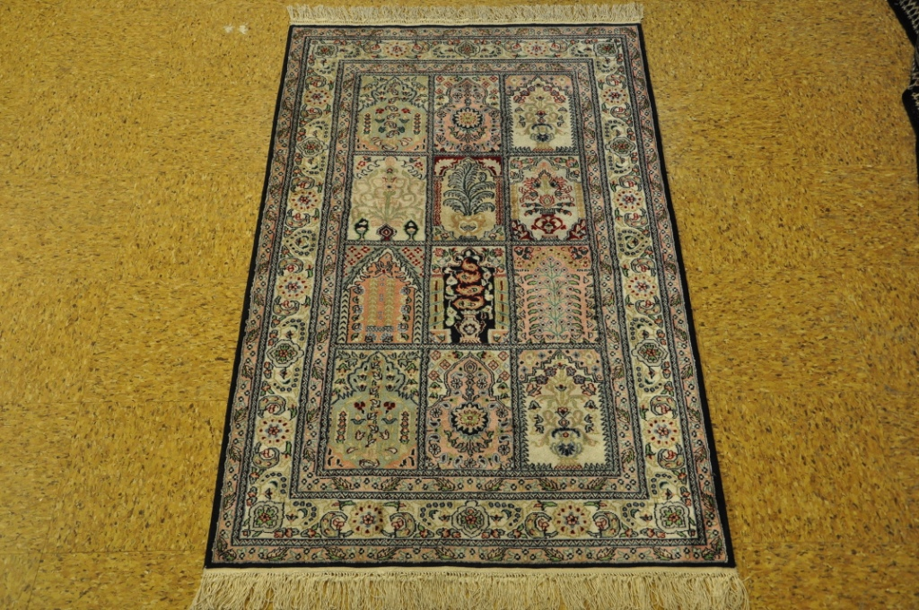 Image Is Loading Hand Knotted Rug 3 039 X 5