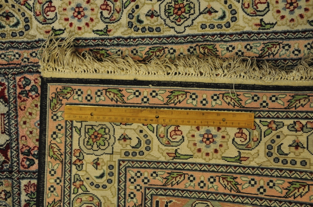 Hand Knotted Rug 3 039 X 5