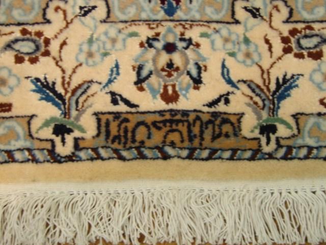 teal oriental rugs signed 3x5 genuine original persian nain rug iran exotic carpet ebay