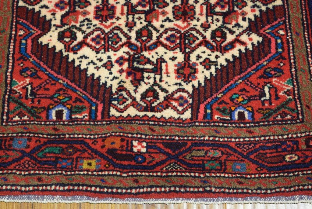 Ivory Handmade Runner 3 X 10 Persian Quality Rug Rugs