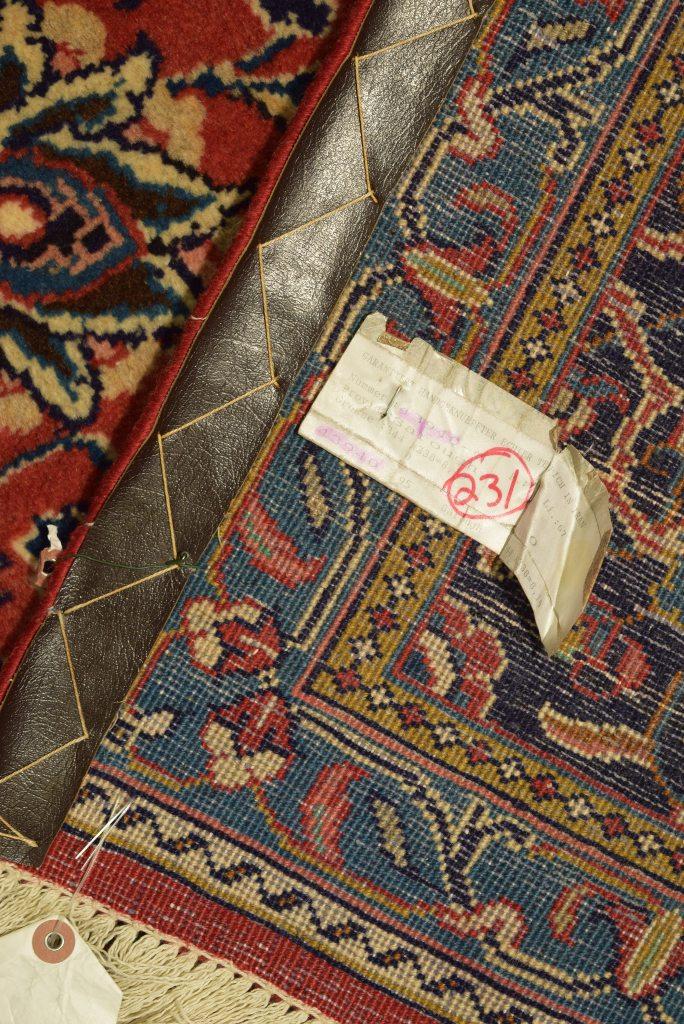 Red Oriental Sarouk Design Wool Rug 8x11 Persian Hand