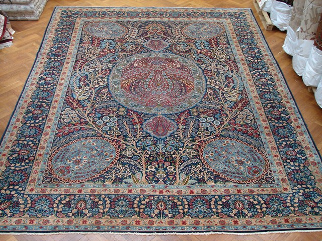 12x16 Hand Knotted Tree Of Life Rug